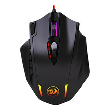 Mouse Gamer Redragon Impact M908 Led Rgb 12400dpi