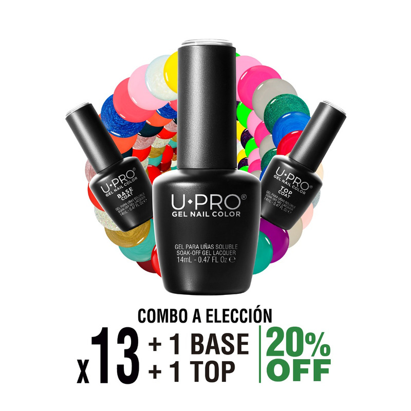 Combo U·PRO X13 + Base y Top Coat