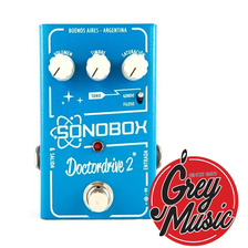 Pedal Sonobox Sonomatic Doctor Drive 2 Overdrive Grey Music