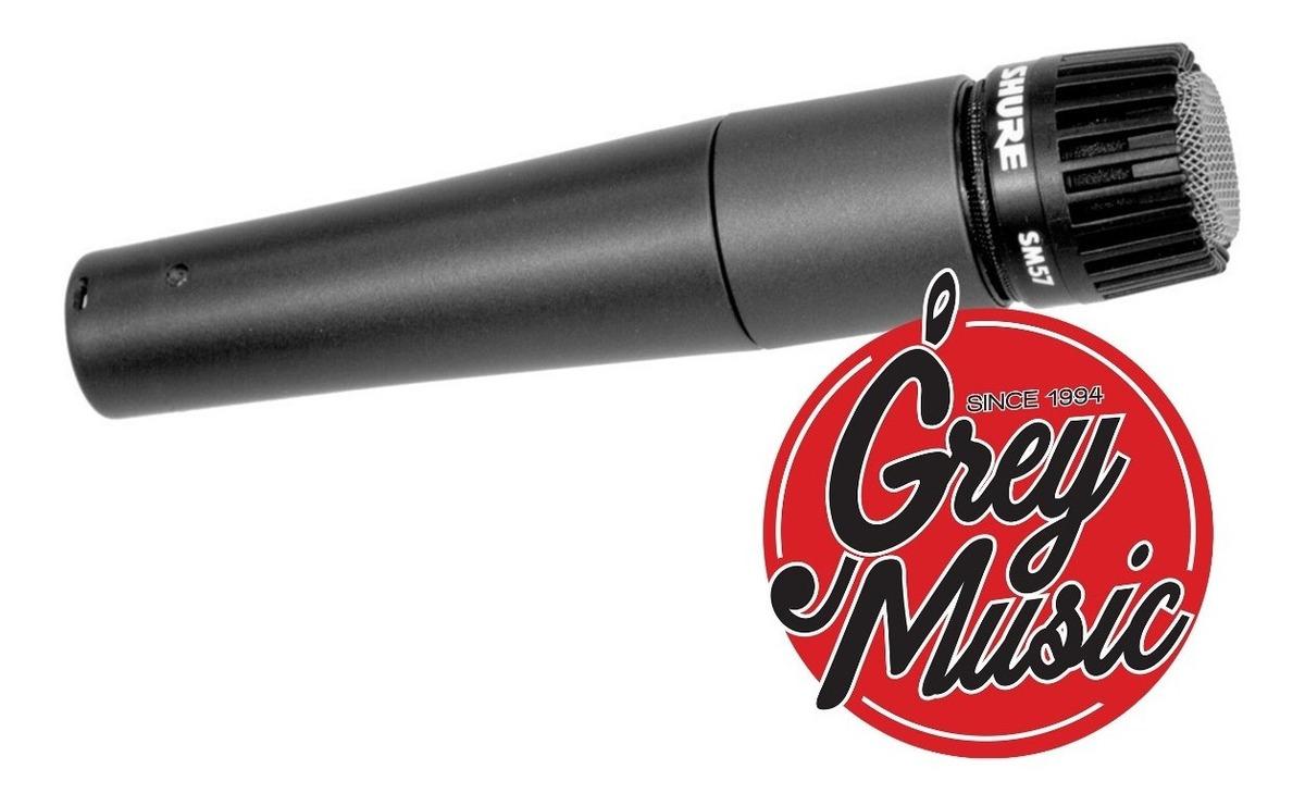 Microfono Shure Sm57 Dinámico Unidireccional Original!