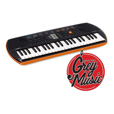Teclado Mini Casio Sa-76 Mini 44 Teclas Niño - Grey Music