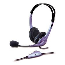 Auriculares Genius Hs-04s Over Ear C/micrófono Vincha Pc