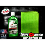 headlight cleaner and sealant Turtlewax + microfibra Kit 12