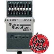 Pedal Ecualizador De Bajo Boss Geb7 Bass Equalizer