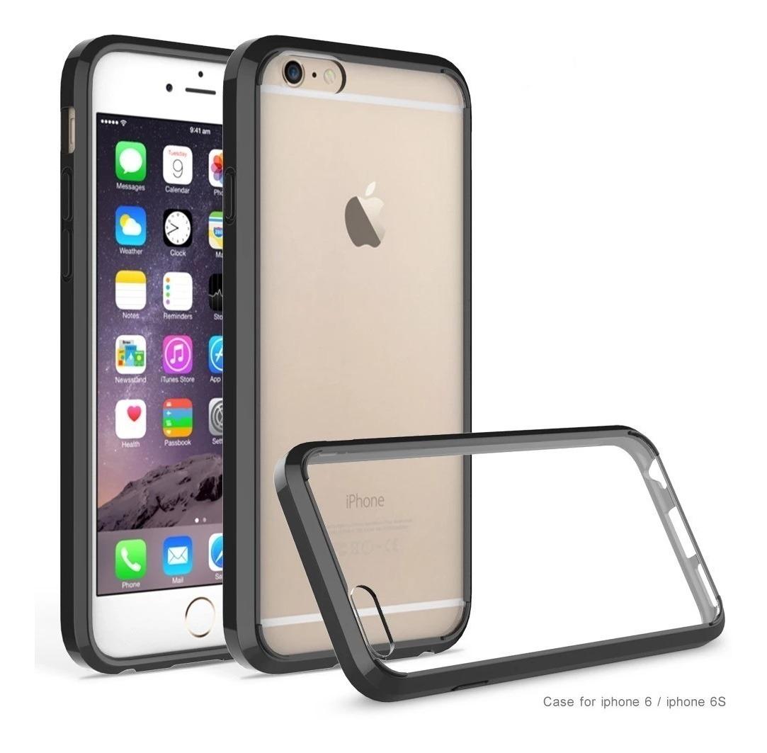 7008c6c1f40 Funda Tpu Antigolpe iPhone 6s 7 8 Plus X Xs Max Xr + Glass | Tienda ...