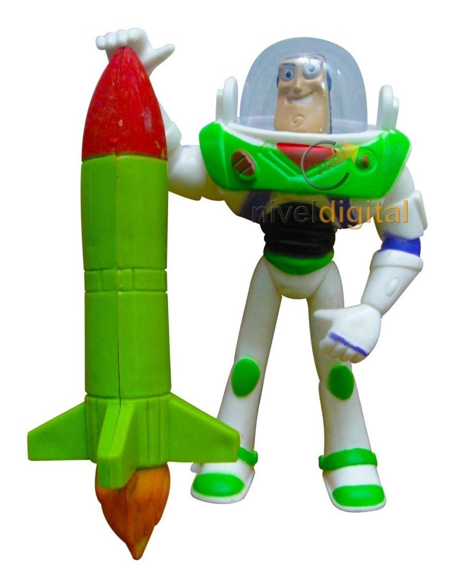 Muñeco Buzz Lightyear Woody Toy Story Blister Deteriorado