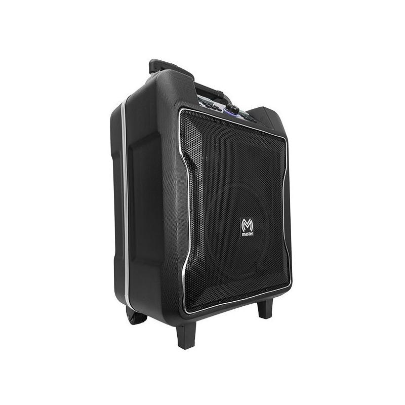 Sistema de audio portátil con reproductor integrado, recargable, lector USB y SD