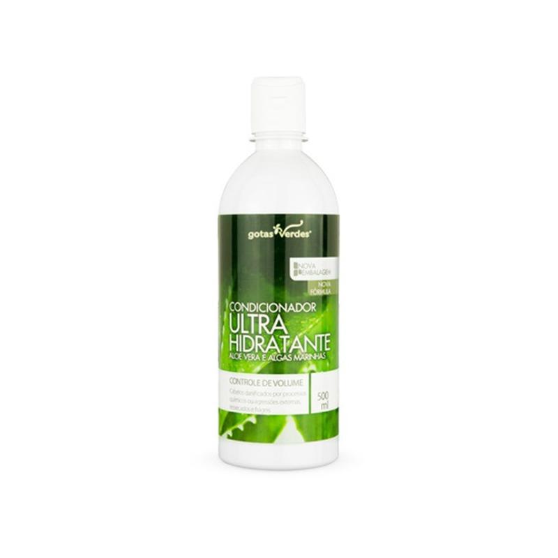 Condicionador UltraHidrat Aloe Vera Algas 500ml Gotas Verdes