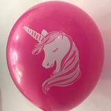 globo unicornio 12 pulgadas x5u. desinflado apto helio