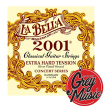 Encordado La Bella 2001ha Hard Tension Guitarra Criolla