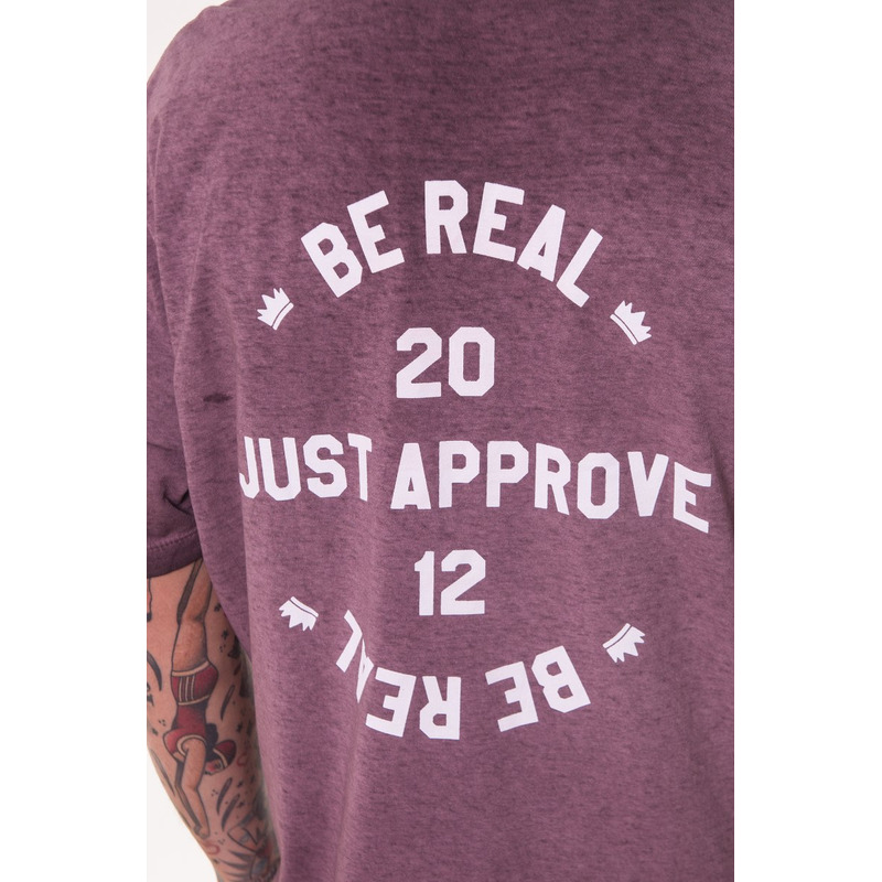 CAMISETA APPROVE BE REAL UVA