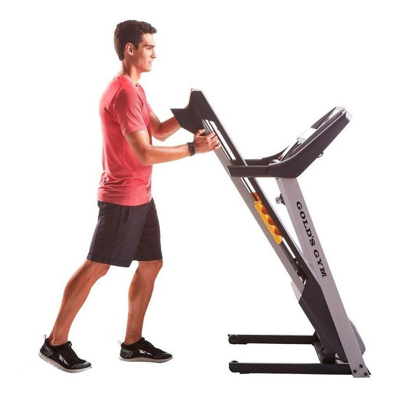 Caminadora Electrica Gold's Gym Trainer 520 Resistente Motor 2.5 Hp