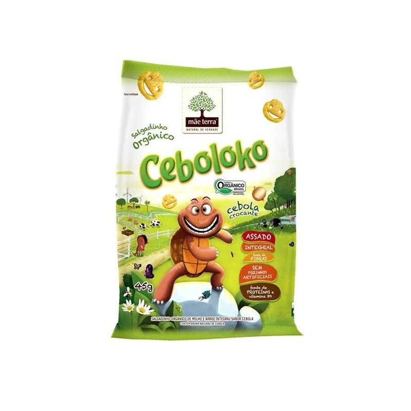 Salgadinho Organico - Ceboloko - 45g - Mae Terra