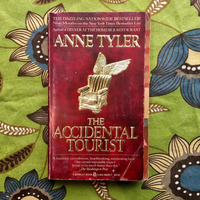 Anne Tyler.  THE ACCIDENTAL TOURIST.