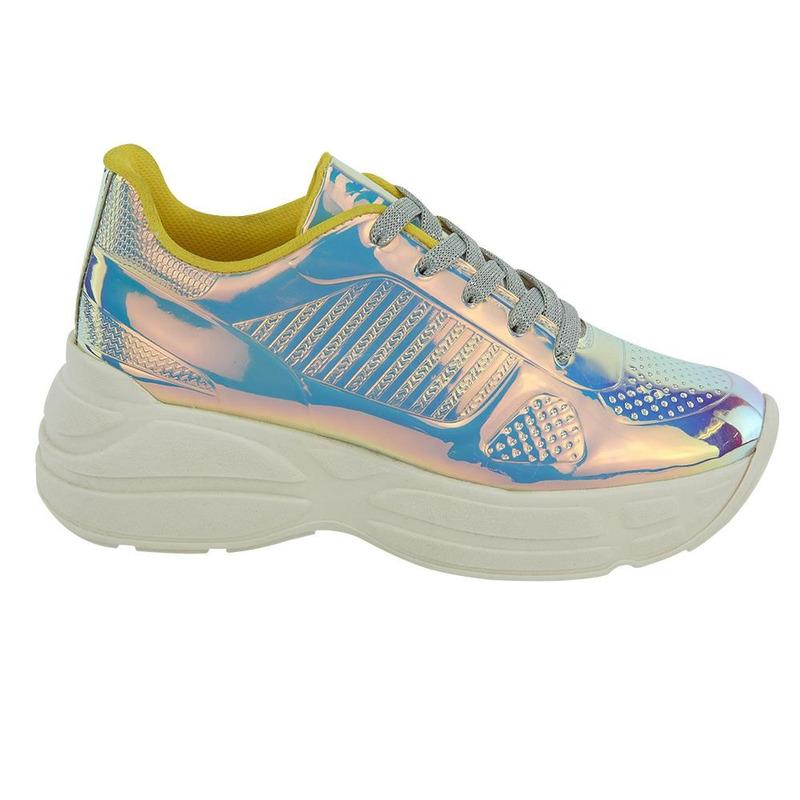 Sneakers Plata 020939