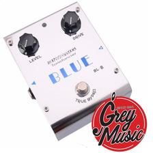 Pedal Biyang Bl8 Blue Overdrive - Grey Music -
