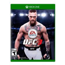 Ufc 3 Xbox One Fisico Sellado Original Nuevo