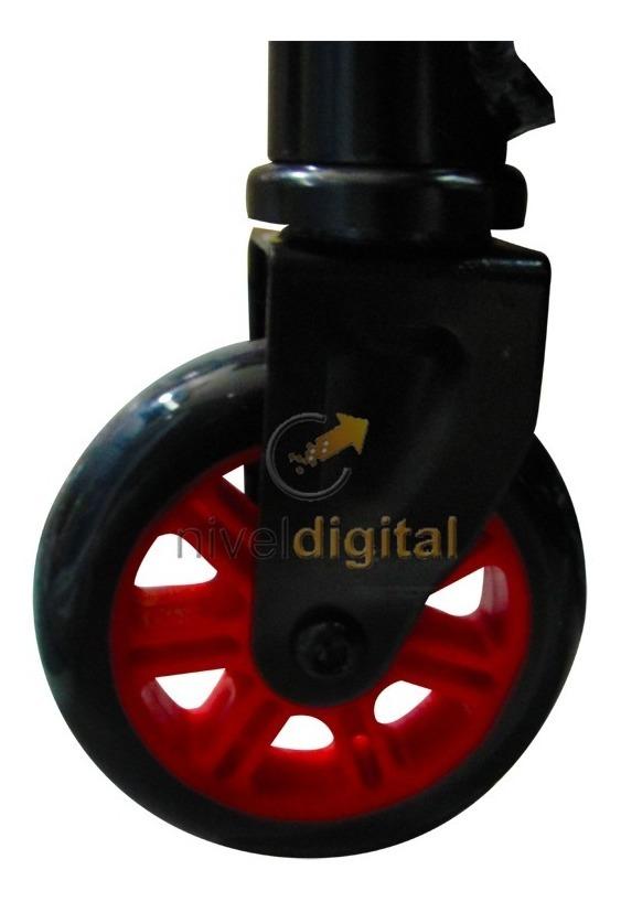 Monopatin Scooter Tabla Waveboard Rugosa 2 Ruedas Plegable
