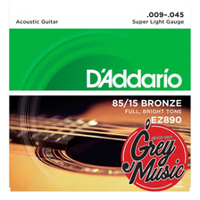 Encordado De Guitarra Acústica Daddario 09-045 Ez890