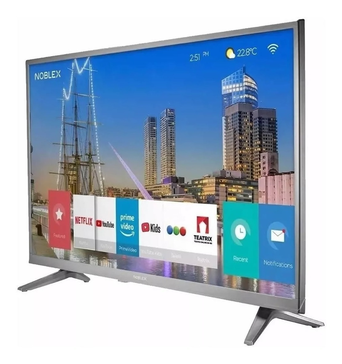 Smart Tv Noblex Hd 32  Dj32x5000