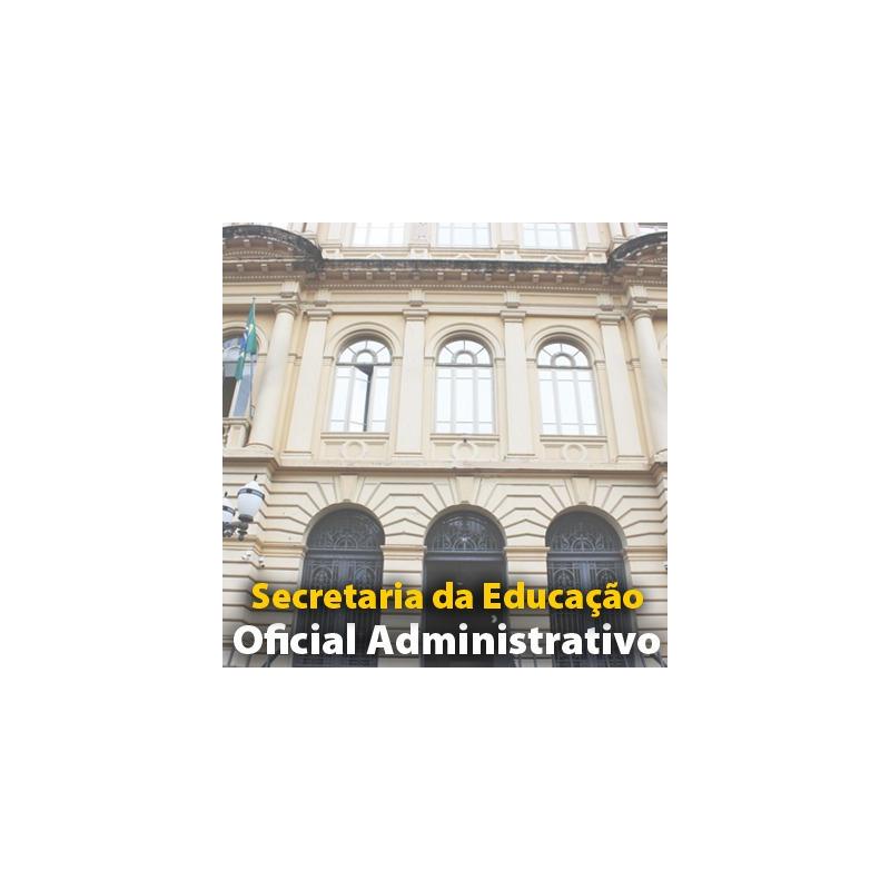 Curso SEE SP Oficial Administrativo Matemática e Raciocínio Lógico