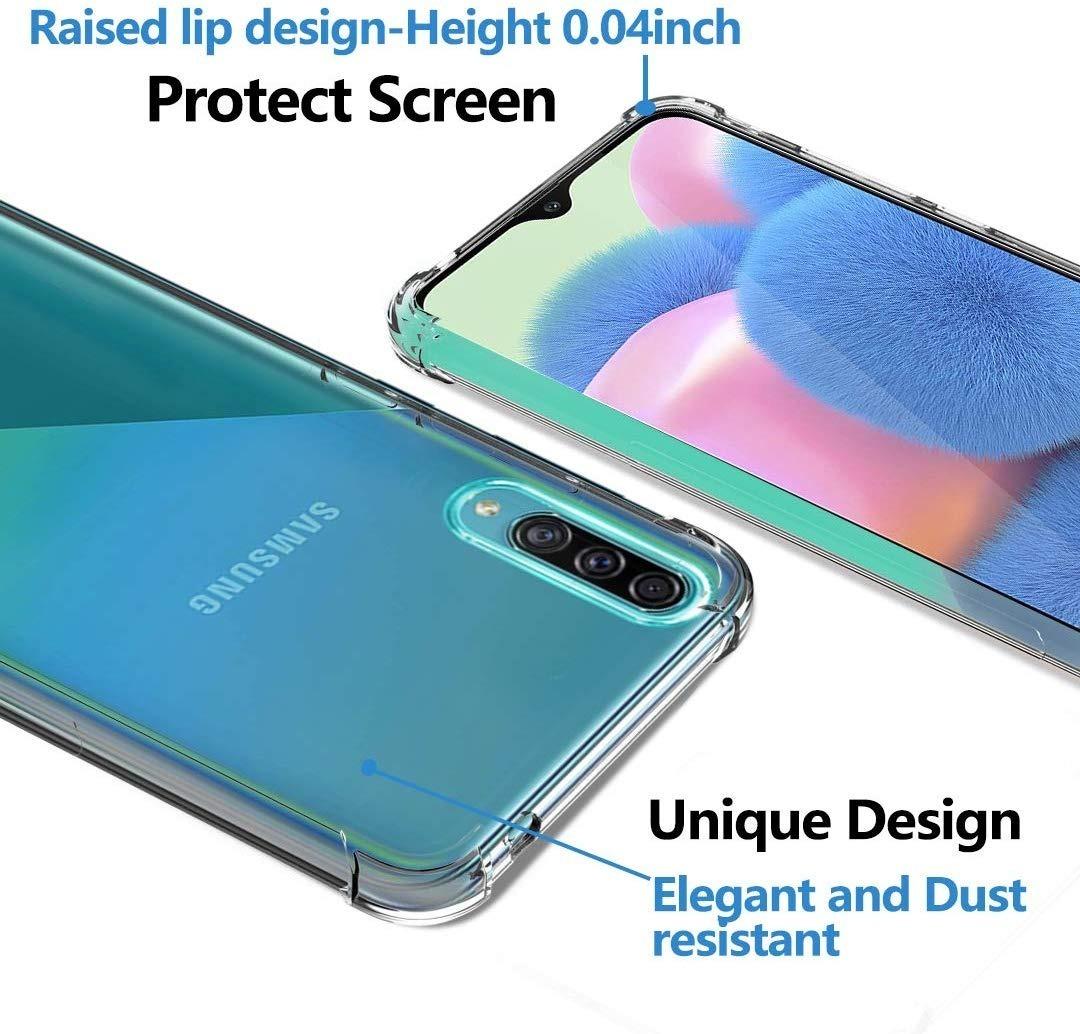 Funda Airbag Transparente Semi Rigida Samsung A30s A50  A50s