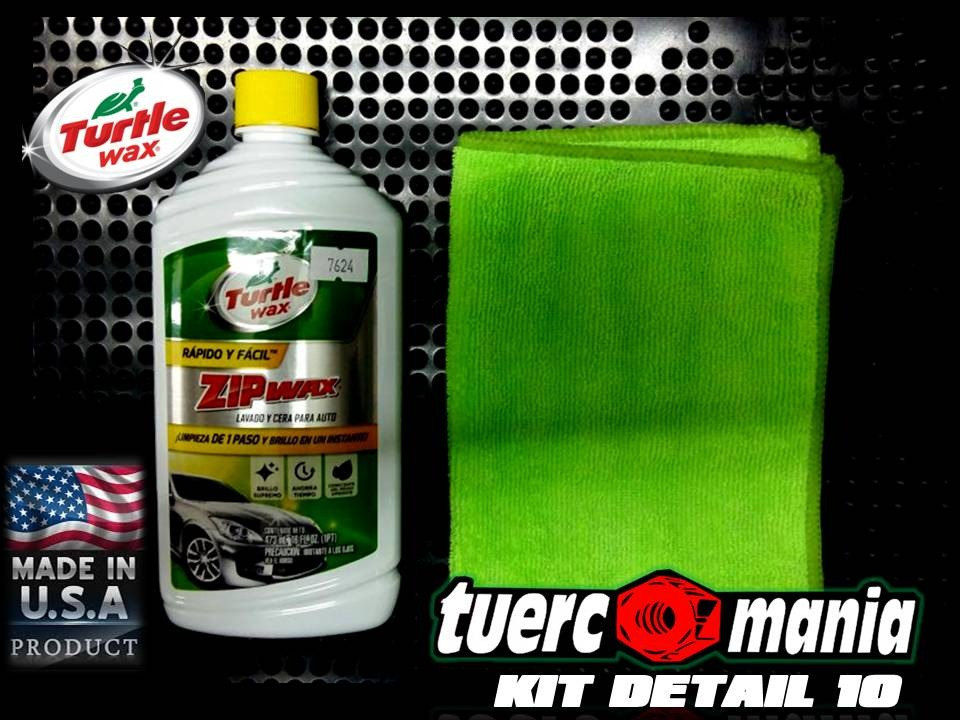 DETAILING TURTLEWAX KIT 10