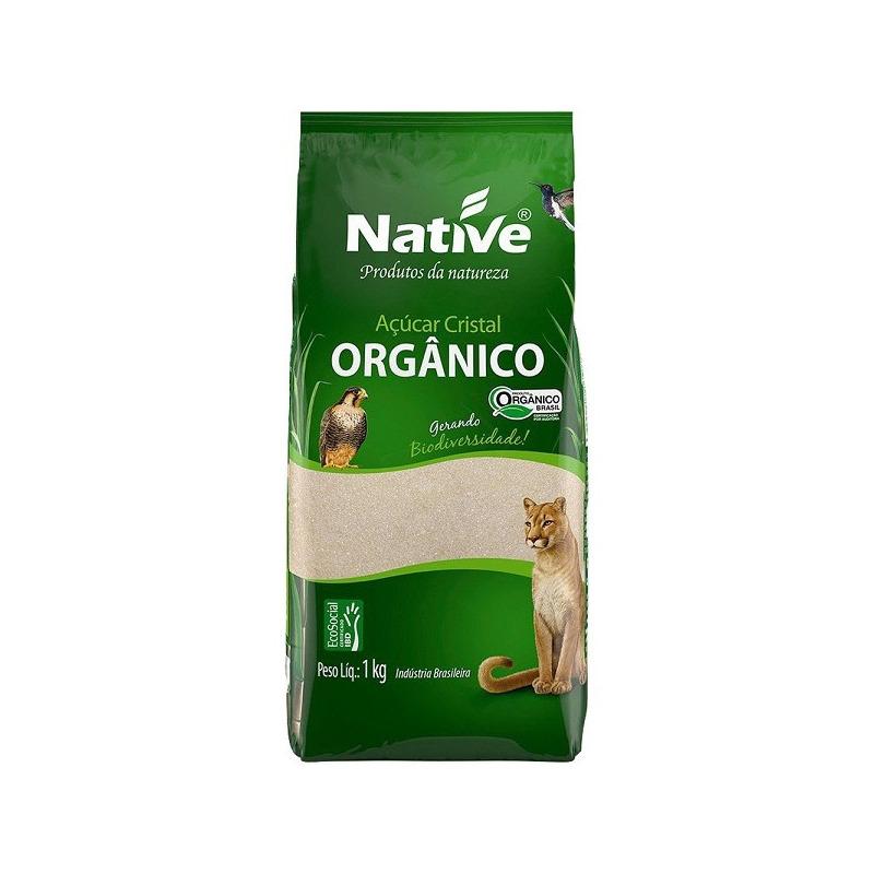Acucar Cristal Organico - 1kg - Native
