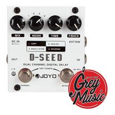 Pedal De Joyo D-seed Dual Channel Digital Delay P/ Guitarra