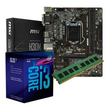 COMBO ACTUALIZACION PC INTEL I3 9100F H310 V2 4GB DDR4 9NA