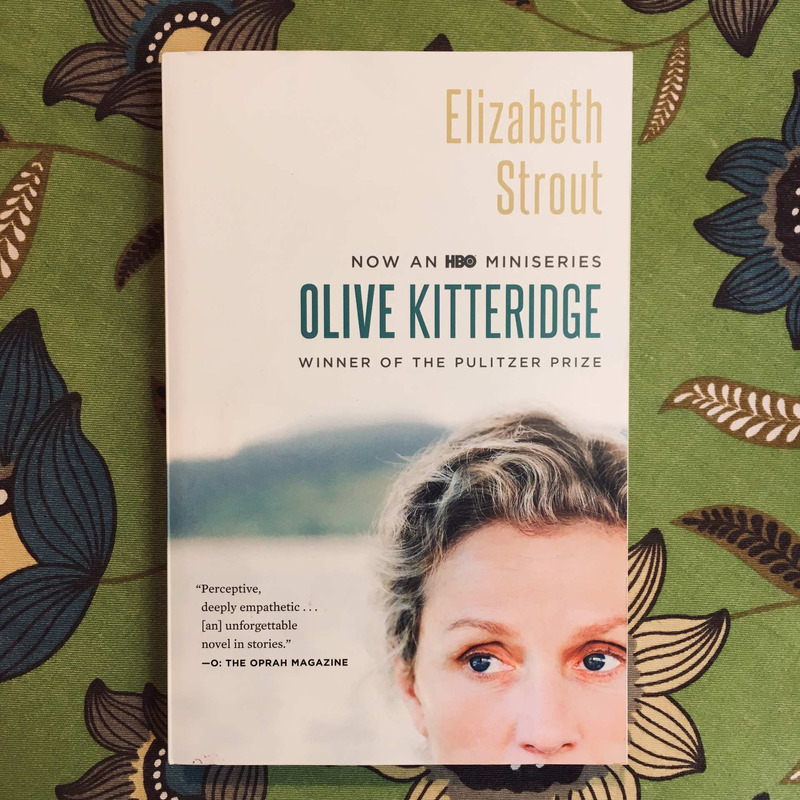 Elizabeth Strout.  OLIVE KITTERIDGE.