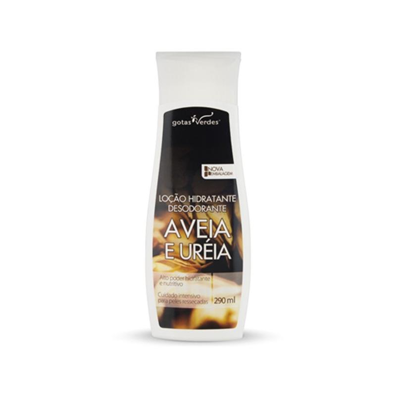 Locao Hidrat. Desodorante Aveia e Ureia 290ml Gotas Verdes