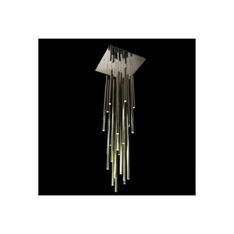 Colgante Focus 20 Luces Led Deco Moderno Altura Regulable Nk
