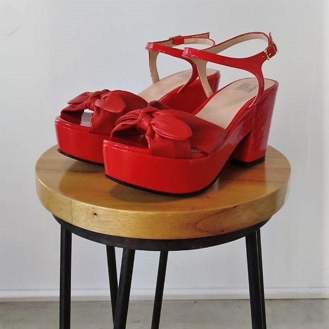 Sandalia 3091 Rojo
