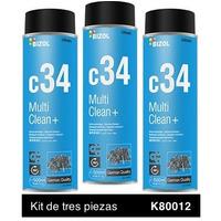 Aerosol Bizol Desengrasante Kit 3p de 500 ml