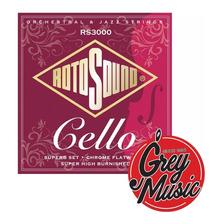 Encordado Para Cello Rotosound Rs3000 - Grey Music -