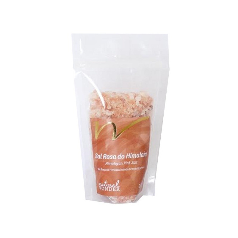 Sal Rosa do Himalaia Grosso 250g - Natural Wonder