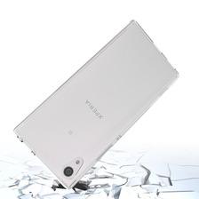 Funda Rigida Transparente Sony Xa1 Plus Antigolpe + Glass 3d