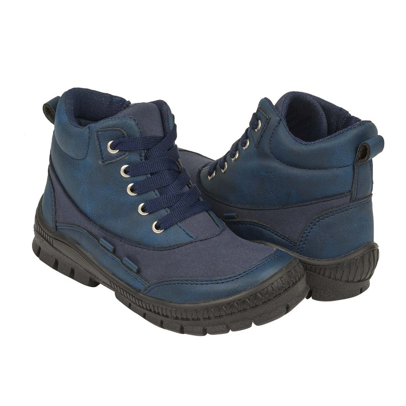 Bota azul gamuza 018759