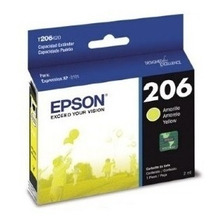 Cartucho Original Epson 206 Amarillo