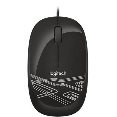 Mouse Óptico Usb Logitech M105 Negro 1000dpi Pc Notebook