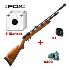 Rifle Aire Comprimido Fox Cr600 Co2 - 7 Tiros - Para Drago