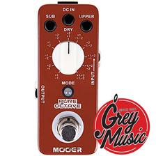 Mooer Pure Octave Micro Pedal De Efecto Para Guitarra