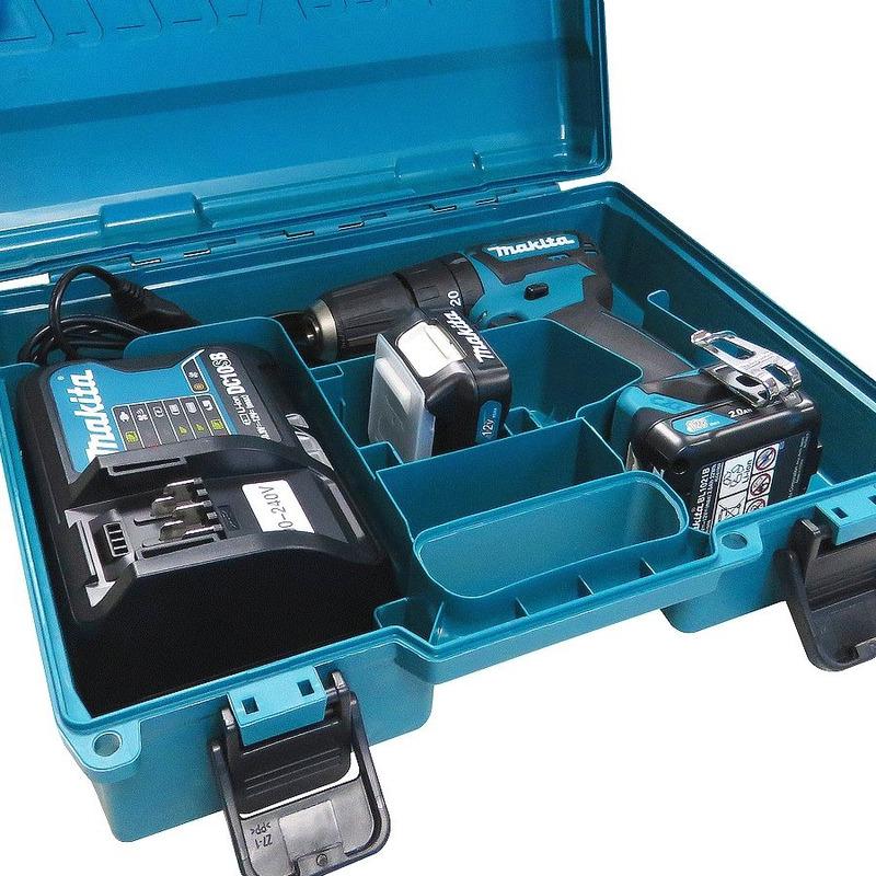Kit Furadeira de Impacto e Furaderia 10mm + 2 Baterias Carregador e Maleta - HP332DSAE - Makita - Bivolt