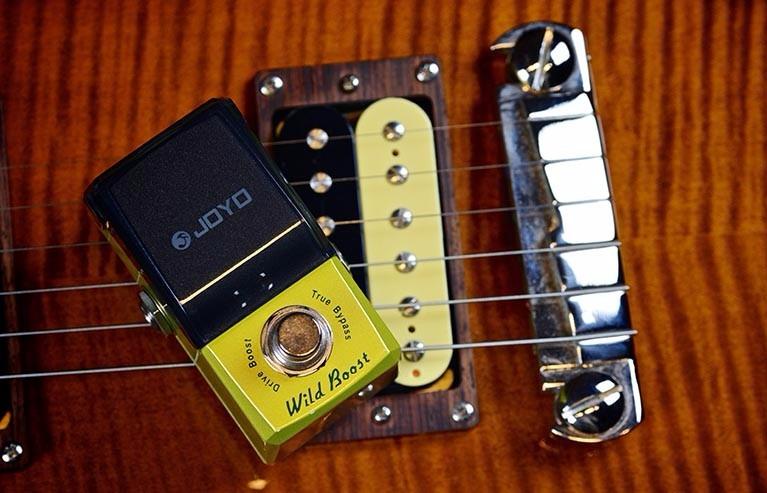 Efecto Pedal De Guitarra Joyo Jf-302 Wild Boost Ironman