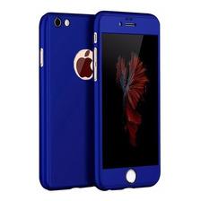 Funda 360 Cubre Completo iPhone 6 6s 7 8 Plus 10 X +templado