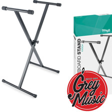 Stagg Music Kxs-q4 Soporte Para Teclado Simple - Grey Music-