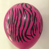 globo animal print 12 pulgadas desinflado apto helio