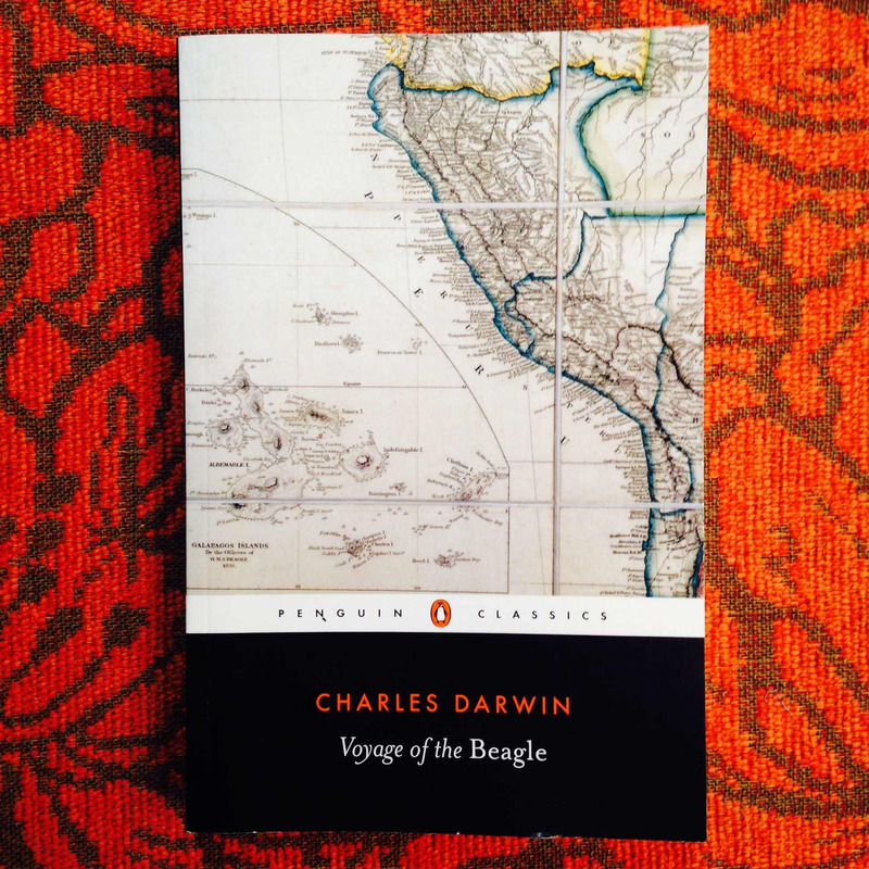 Charles Darwin.  VOYAGE OF THE BEAGLE.