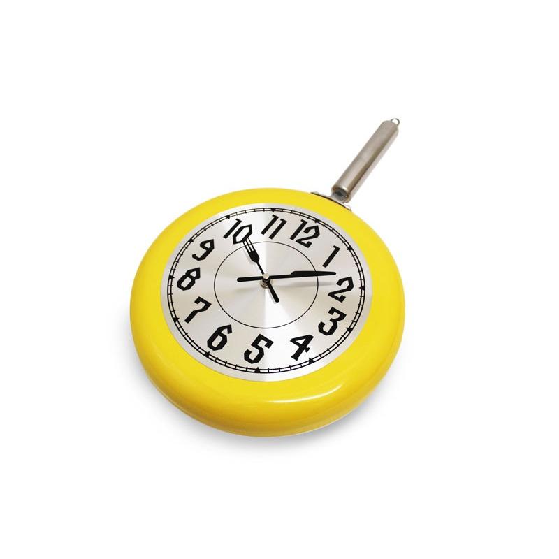 Reloj De Pared En Forma De Sarten Mod. Ac-4498 Home sweet Home